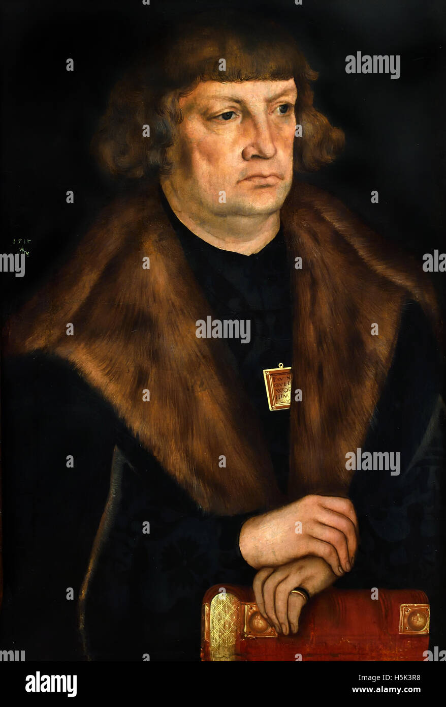 Der Jurist Leonhard Badehorn 1510 -1587 Lucas Cranach the younger 1513-1586 German Germany - Stock Image