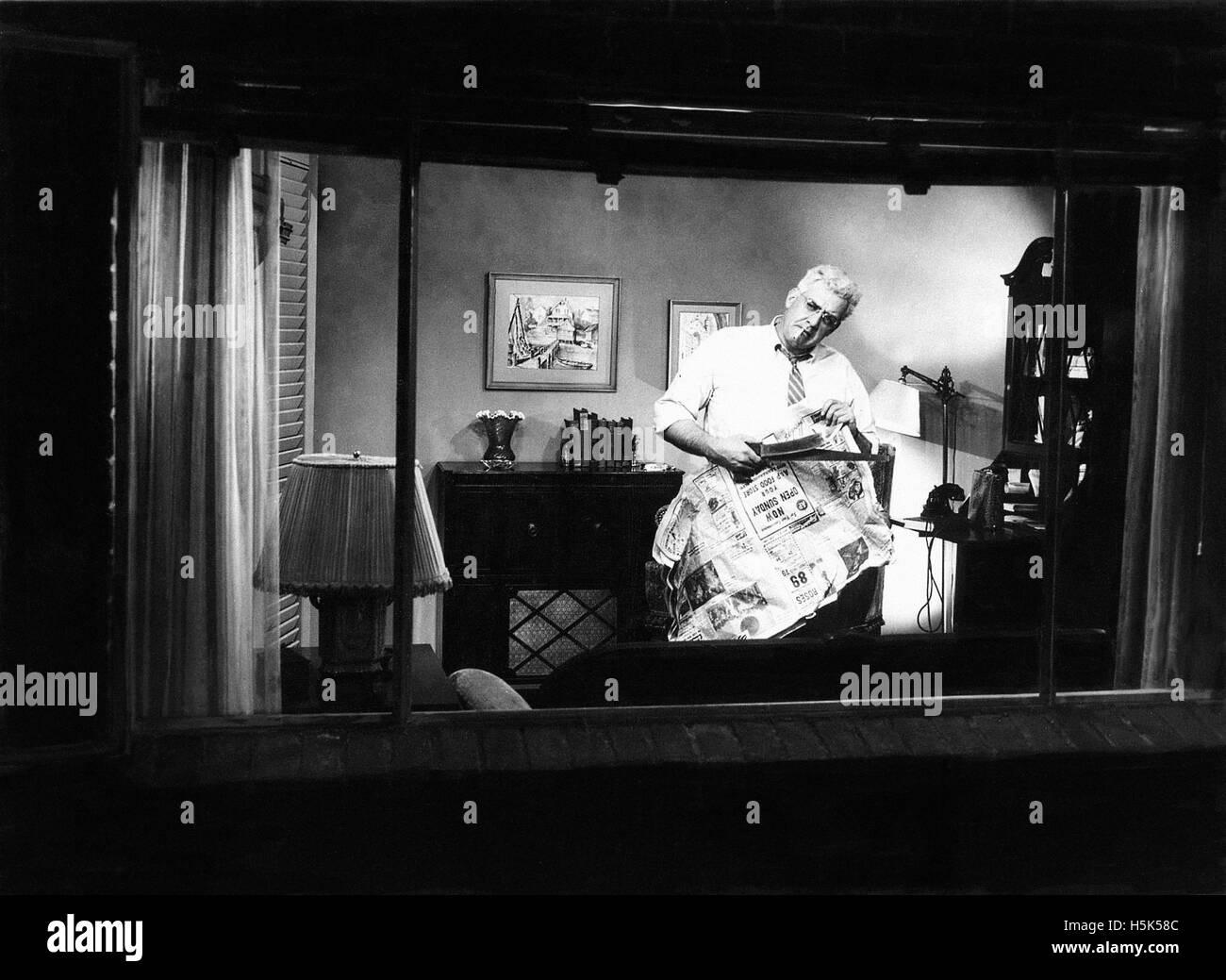 Rear Window - Stock Image