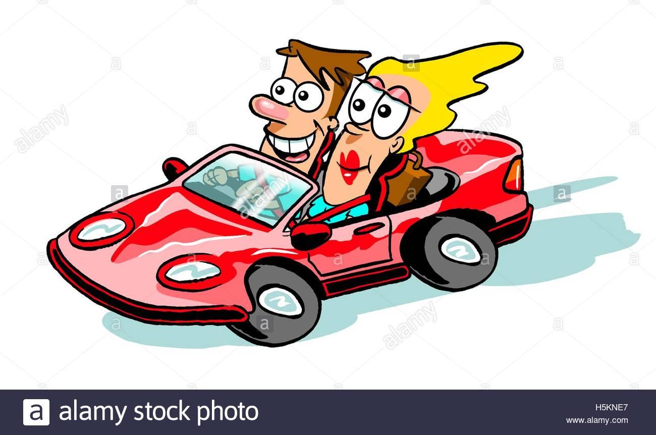 Buy Car Cartoon