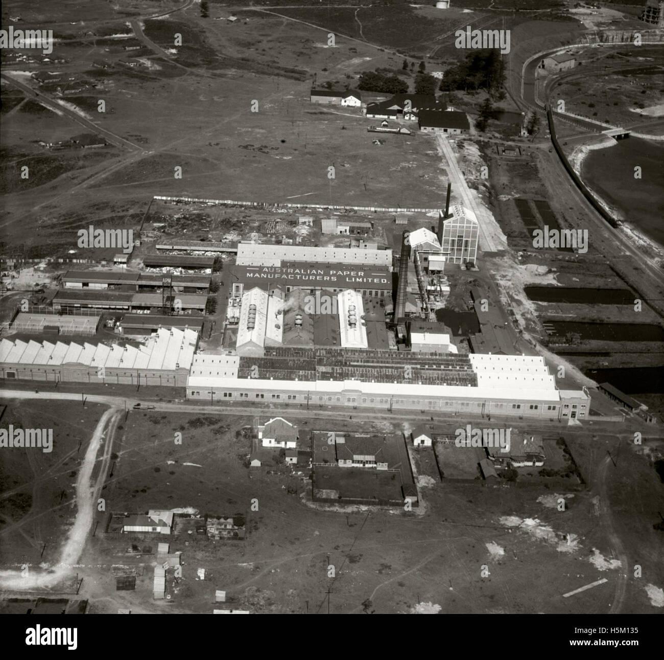 Australian Paper Manufacturing Ltd - 19 Sept 1935 - Stock Image