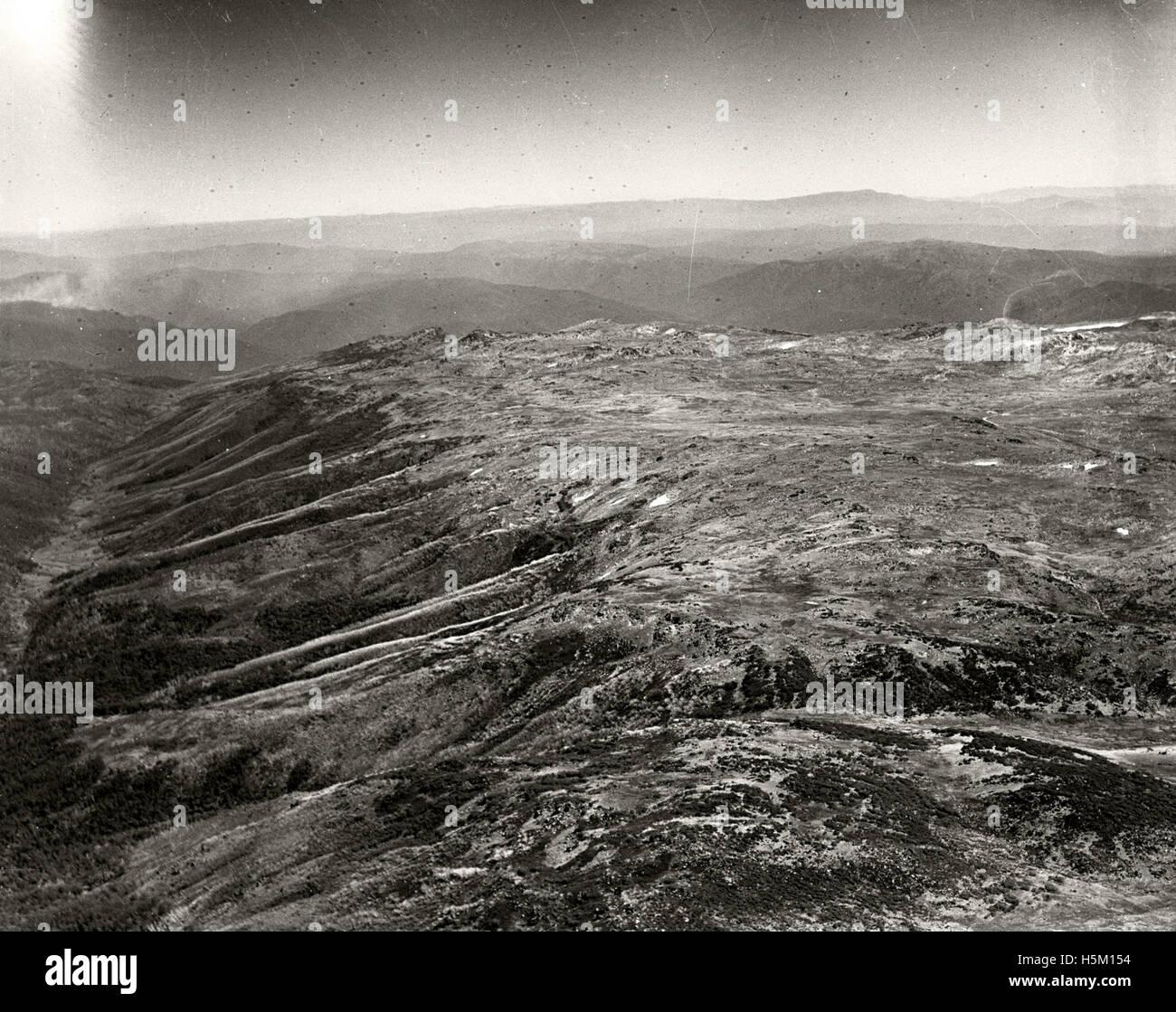 Kosciusko Summit - 11 March 1937 - Stock Image