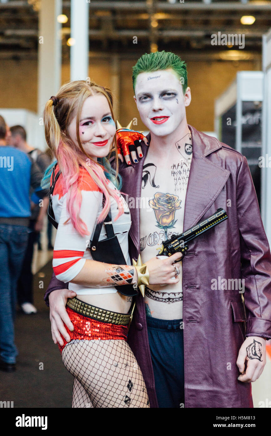 Harley Quinn Costume High Resolution Stock Photography And Images Alamy
