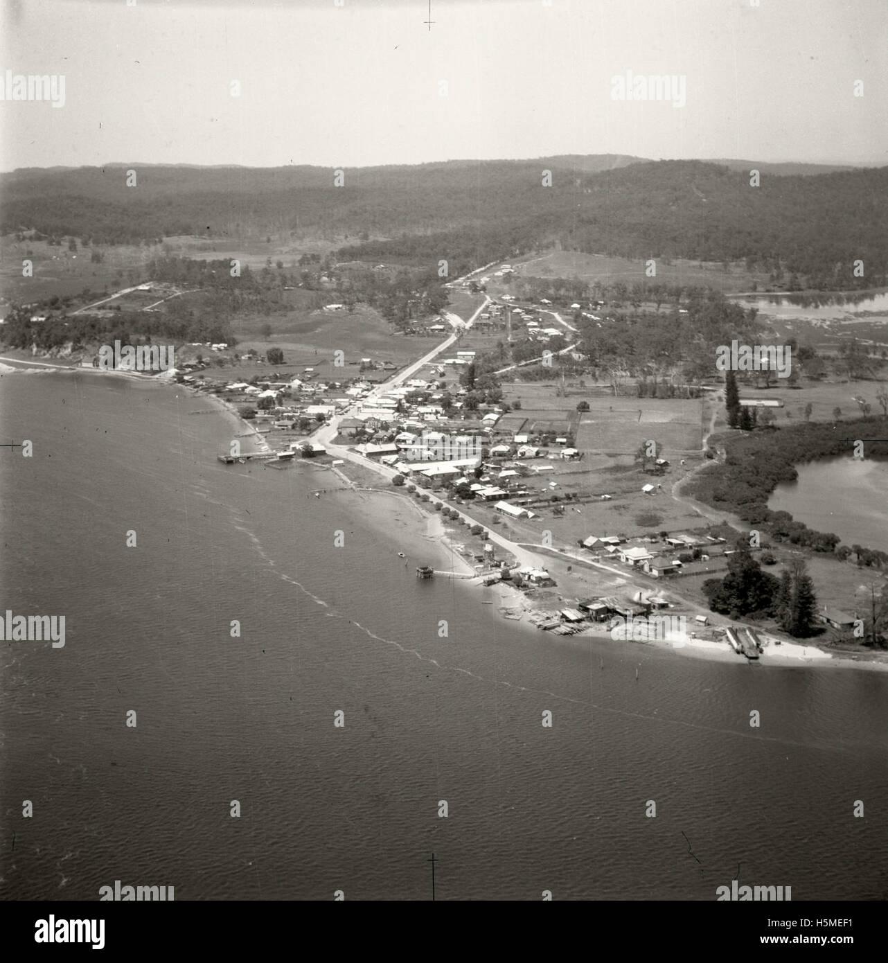 Batemans Bay - 17 Nov 1937 - Stock Image