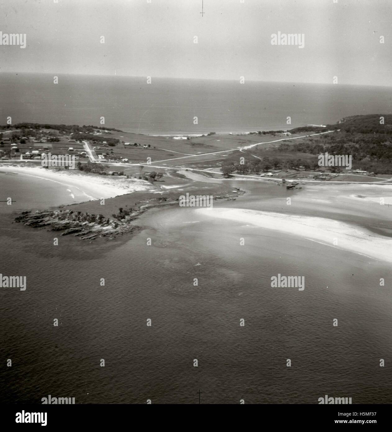 Bermagui looking east - 17 Nov 1937 - Stock Image