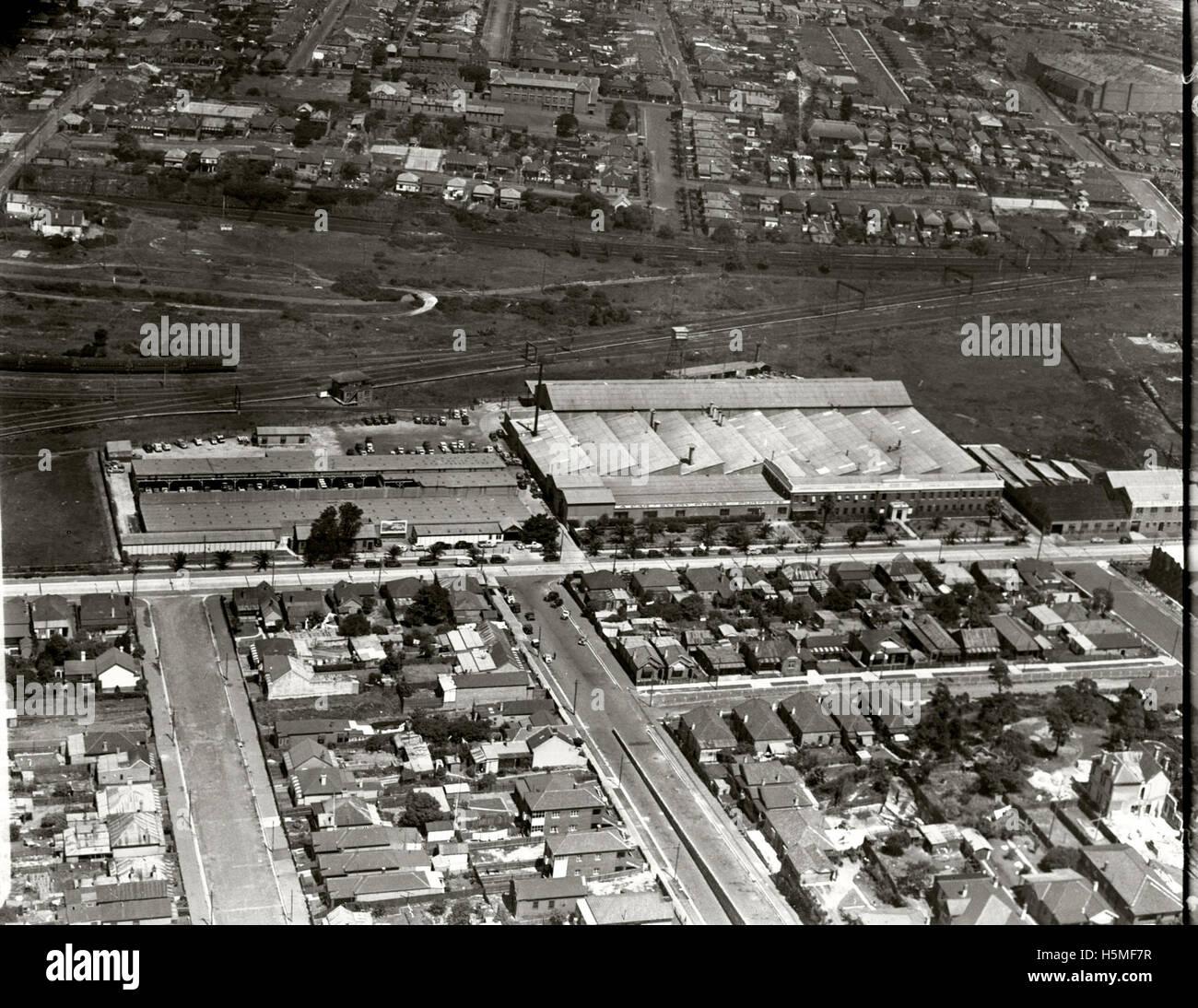 General Motors Holden Ltd Assembly Plant  - 1936 - Stock Image