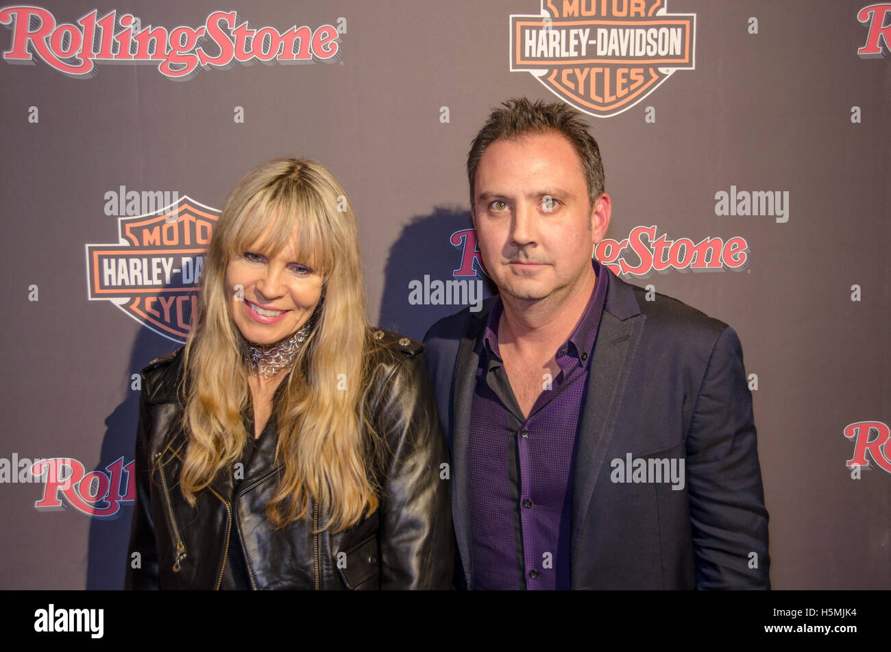 Karen Davidson and Michael Provus attend Harley-Davidson and Rolling
