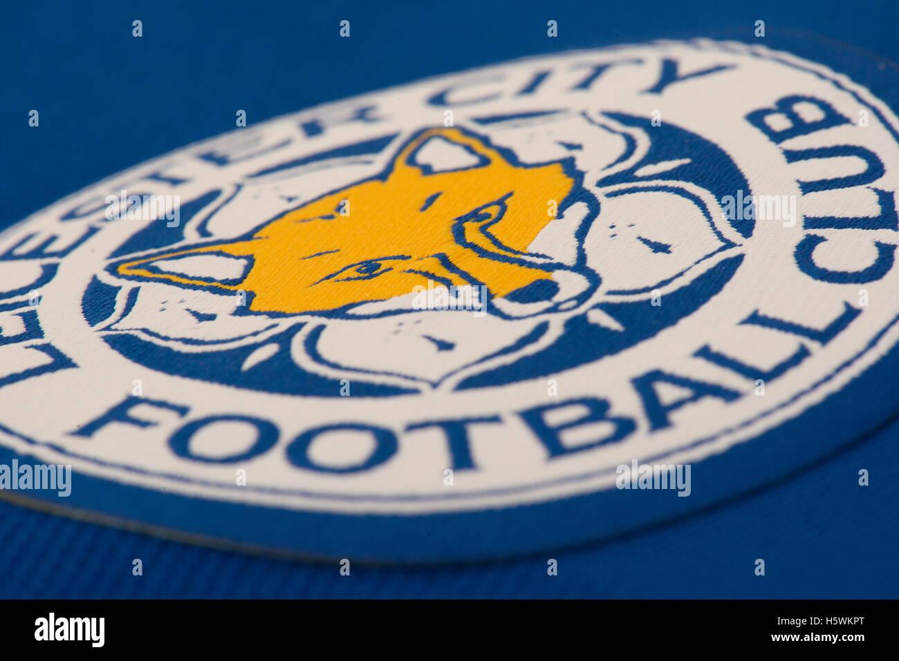 Premier League Champions Leicester City football club badge