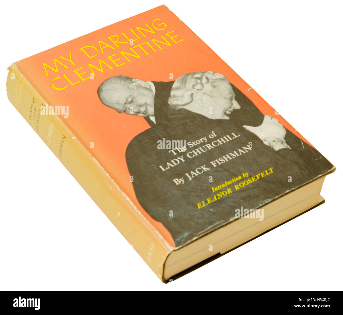 My Darling Clementine - The Story of Lady Churchill by Jack Fishman - Stock Image