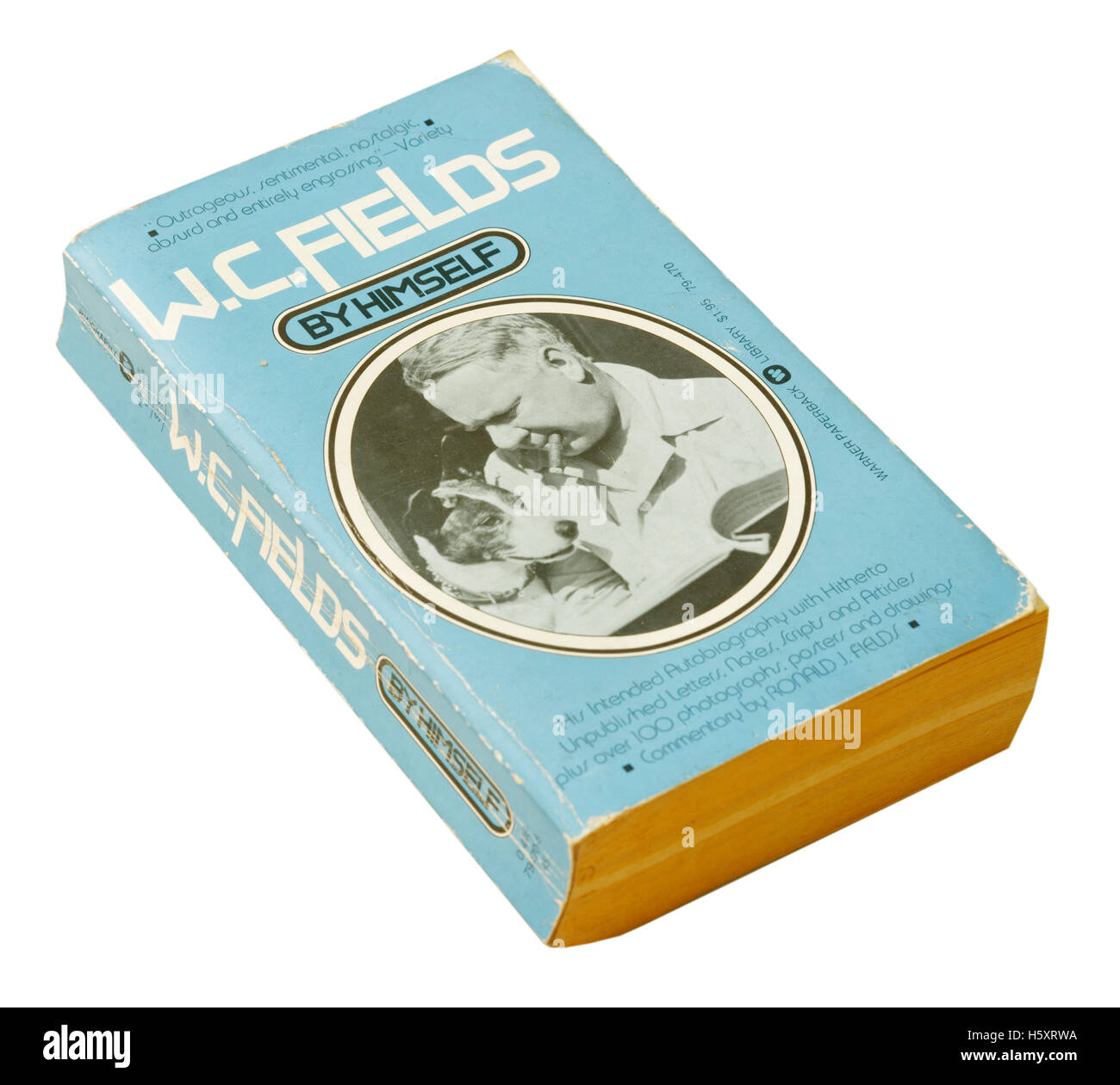 WC Fields By Himself autobiography - Stock Image