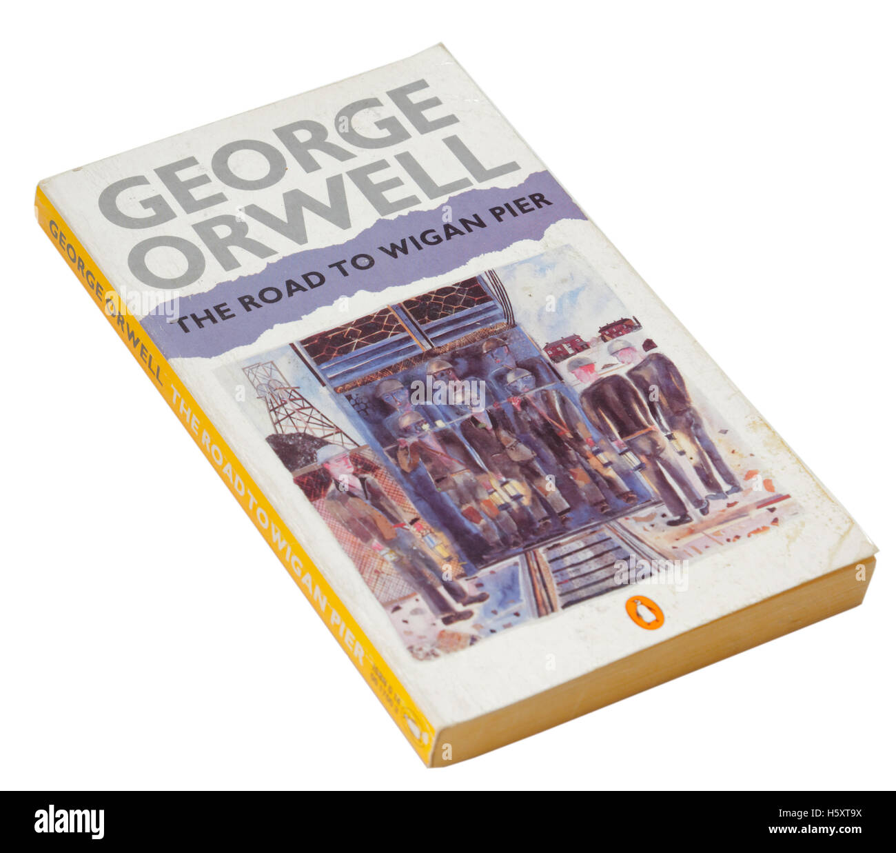 The Road to Wigan Pier by George Orwell - Stock Image