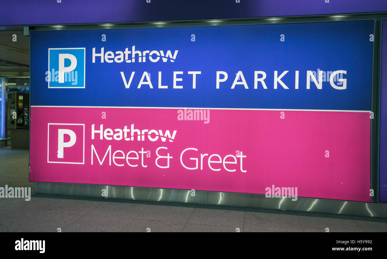 Heathrow valet parking and meet and greet parking area stock photo heathrow valet parking and meet and greet parking area m4hsunfo