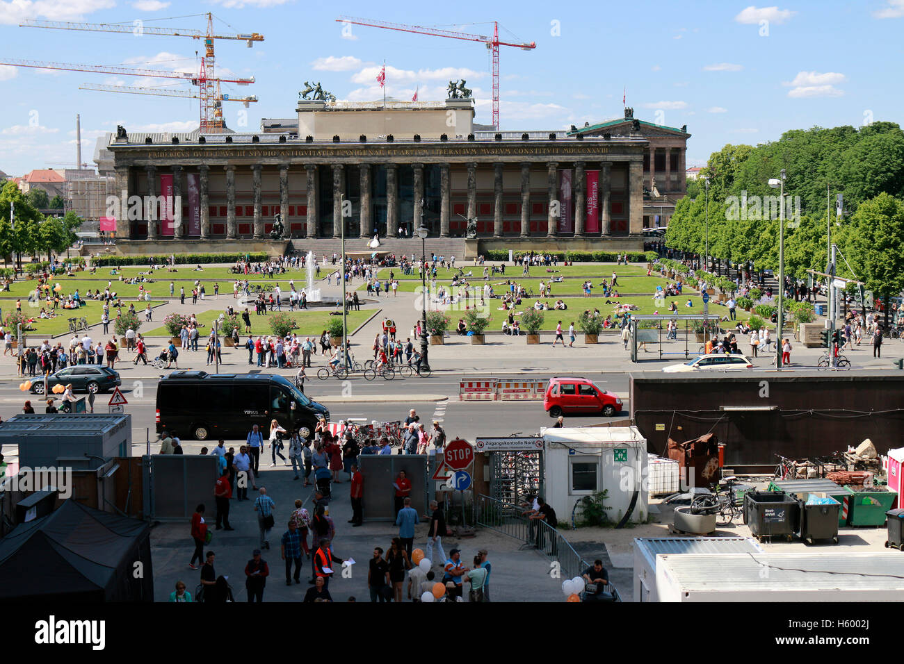 Altes Museum, Berlin-Mitte. - Stock Image