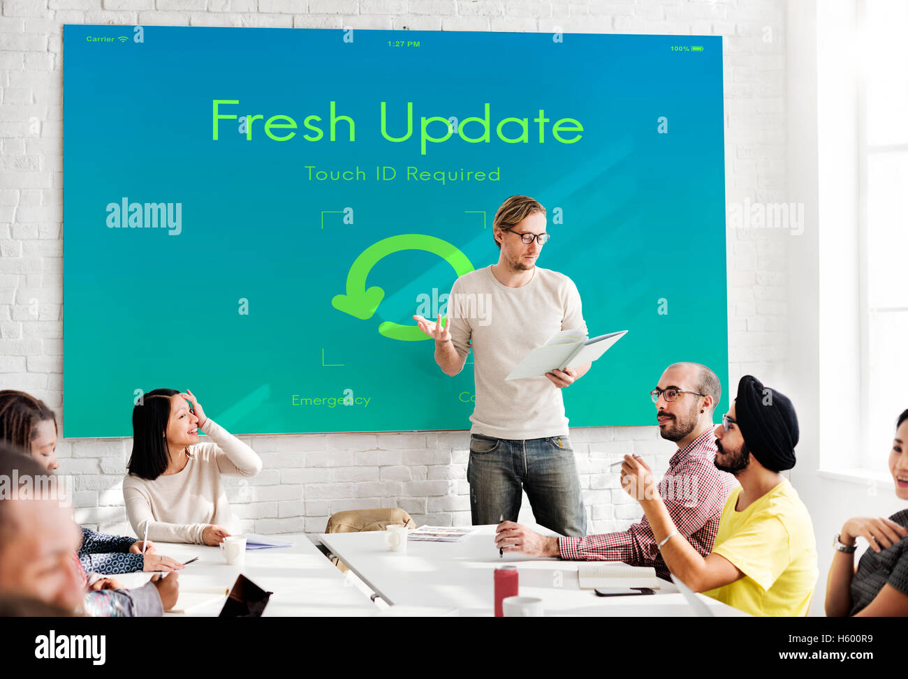 Fresh Update Upgrade New Version Concept - Stock Image