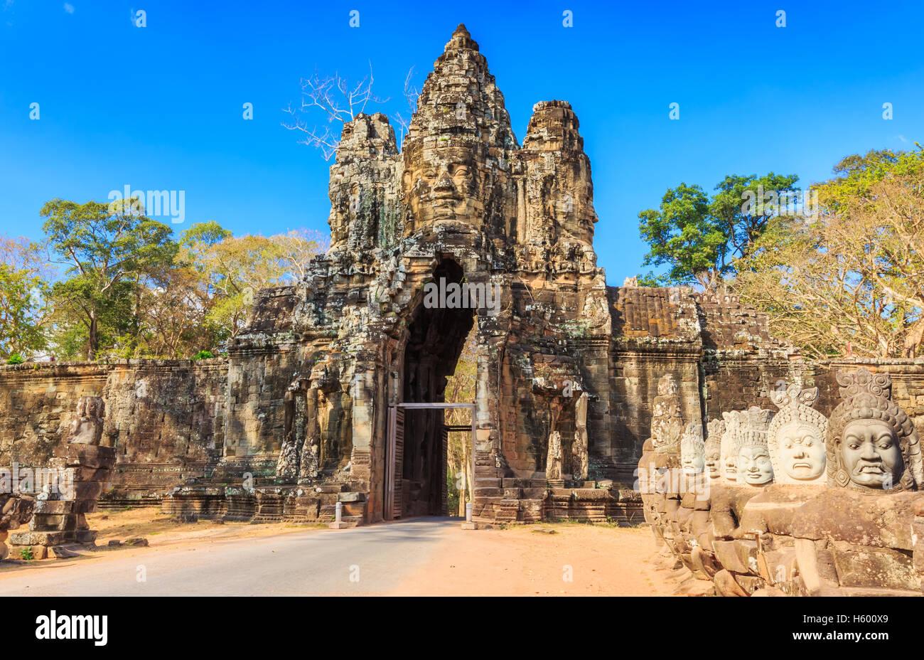 Angkor Wat, Cambodia. - Stock Image