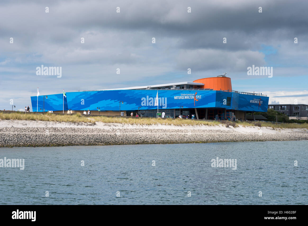 Forces of Nature Centre Sylt, since 2009, List, Sylt, Schleswig-Holstein, Germany - Stock Image