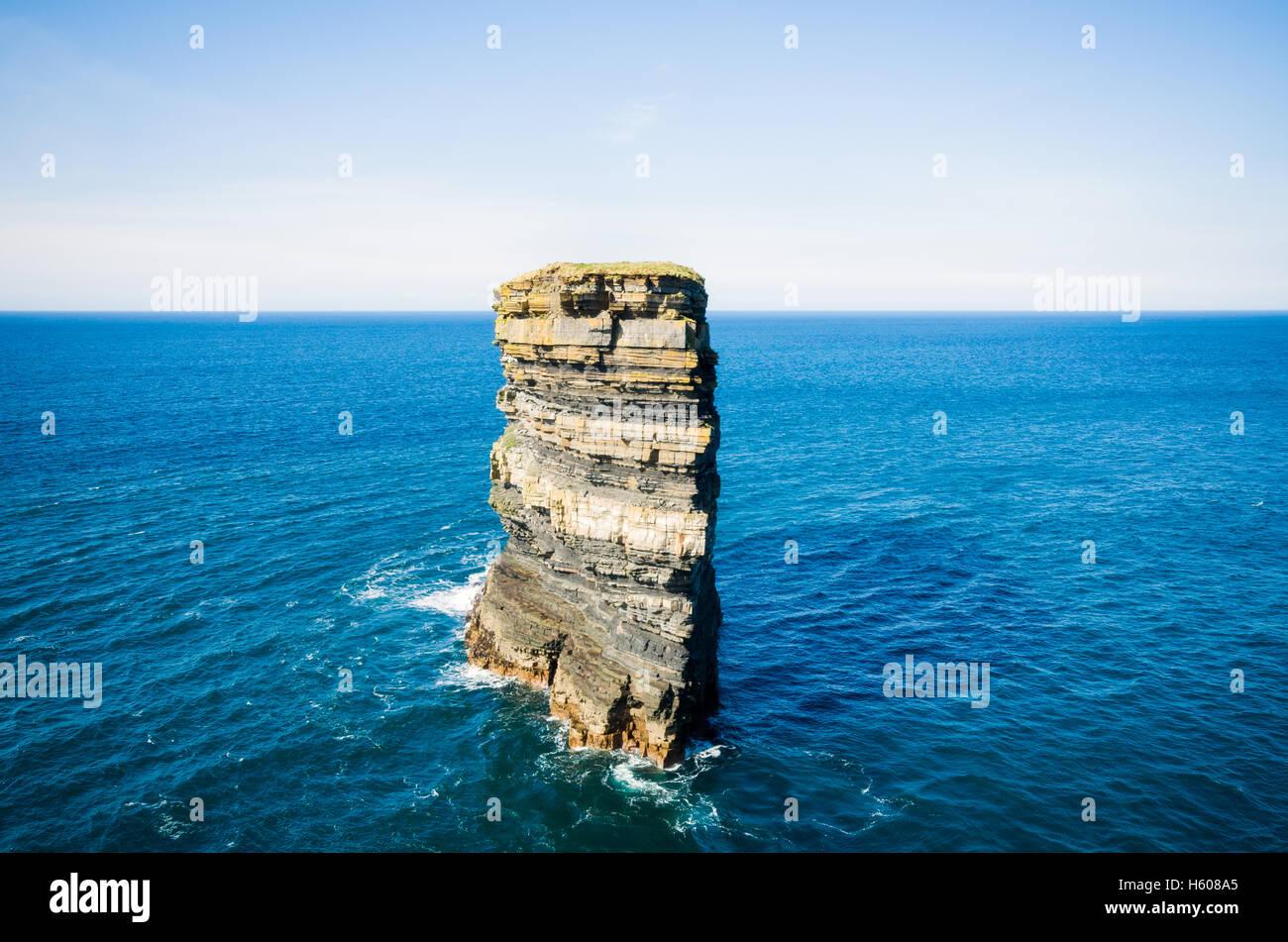 Downpatrick Head, Co. Mayo, Ireland - Stock Image
