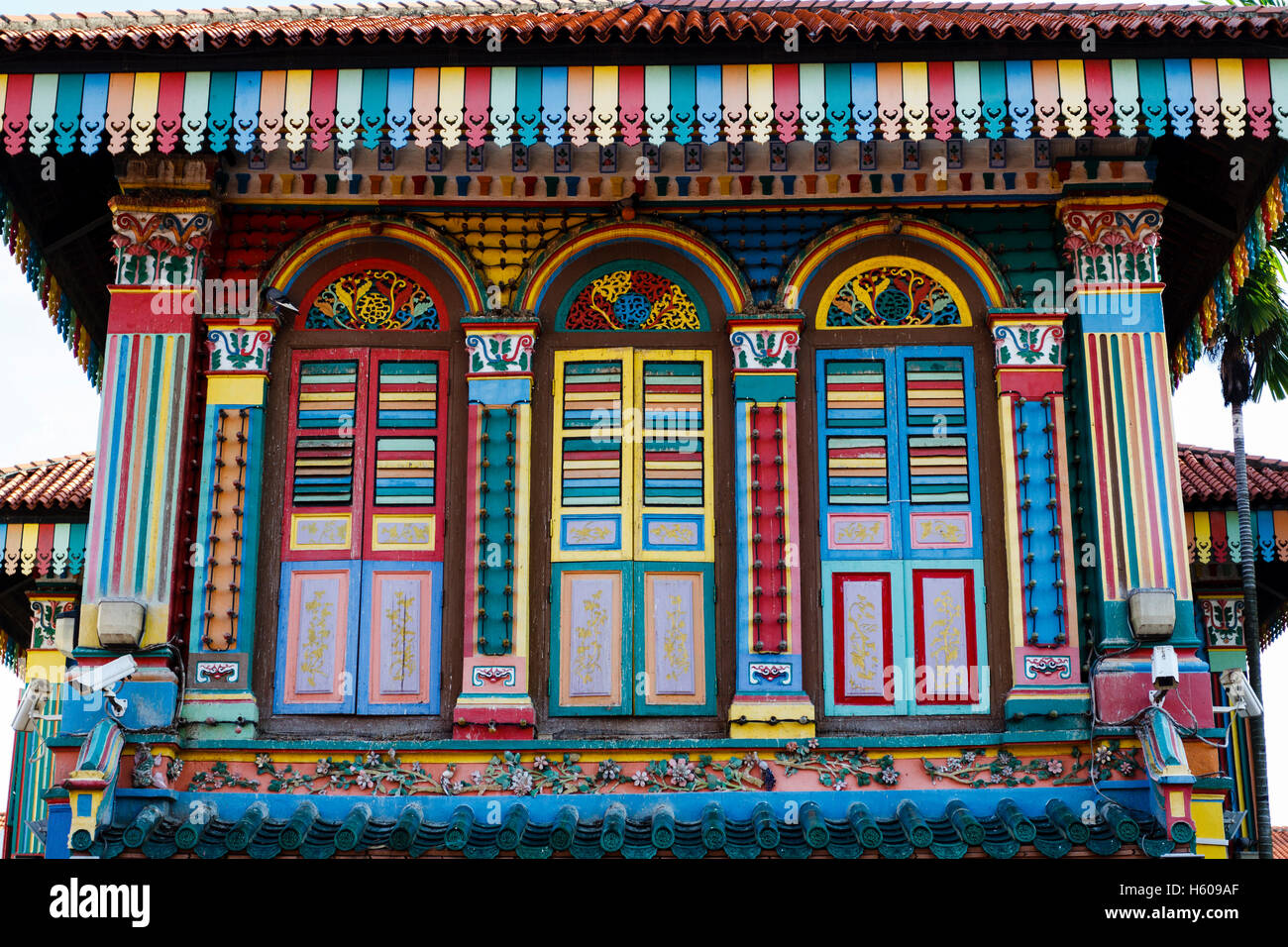 House of Tan Teng Niah, Little India, Singapore - Stock Image
