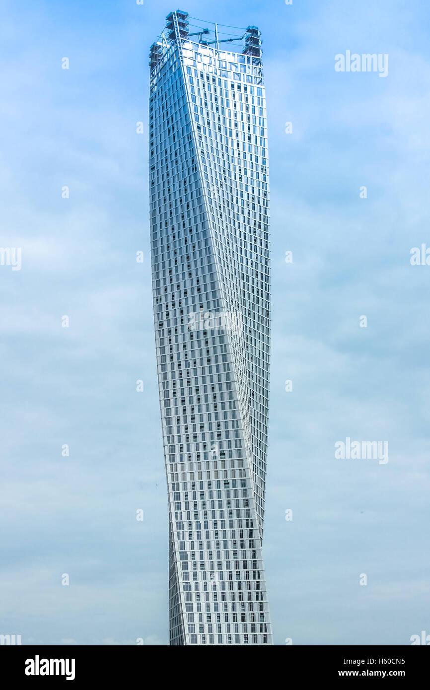 Cayan Tower Dubai - Stock Image