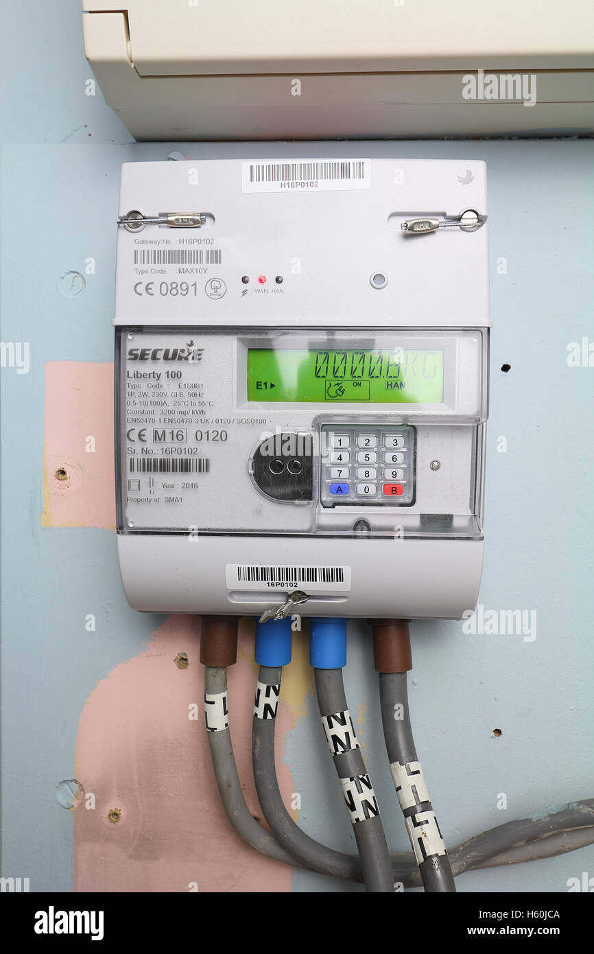 smart gas meter can be read remotely and supply real time information to  the home owner