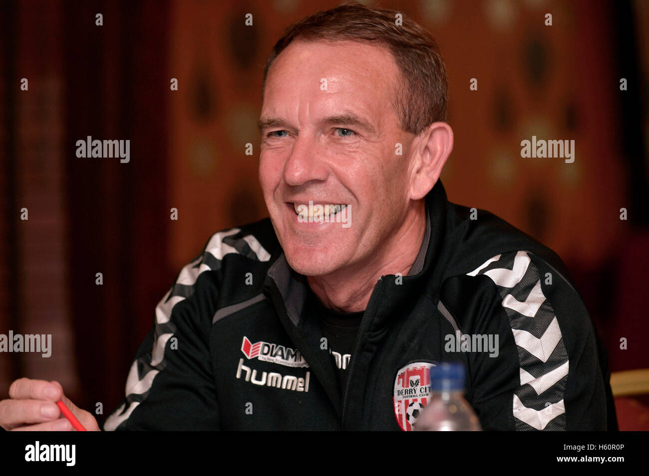 Kenny Shiels, manager, Derry City Football Club - Stock Image
