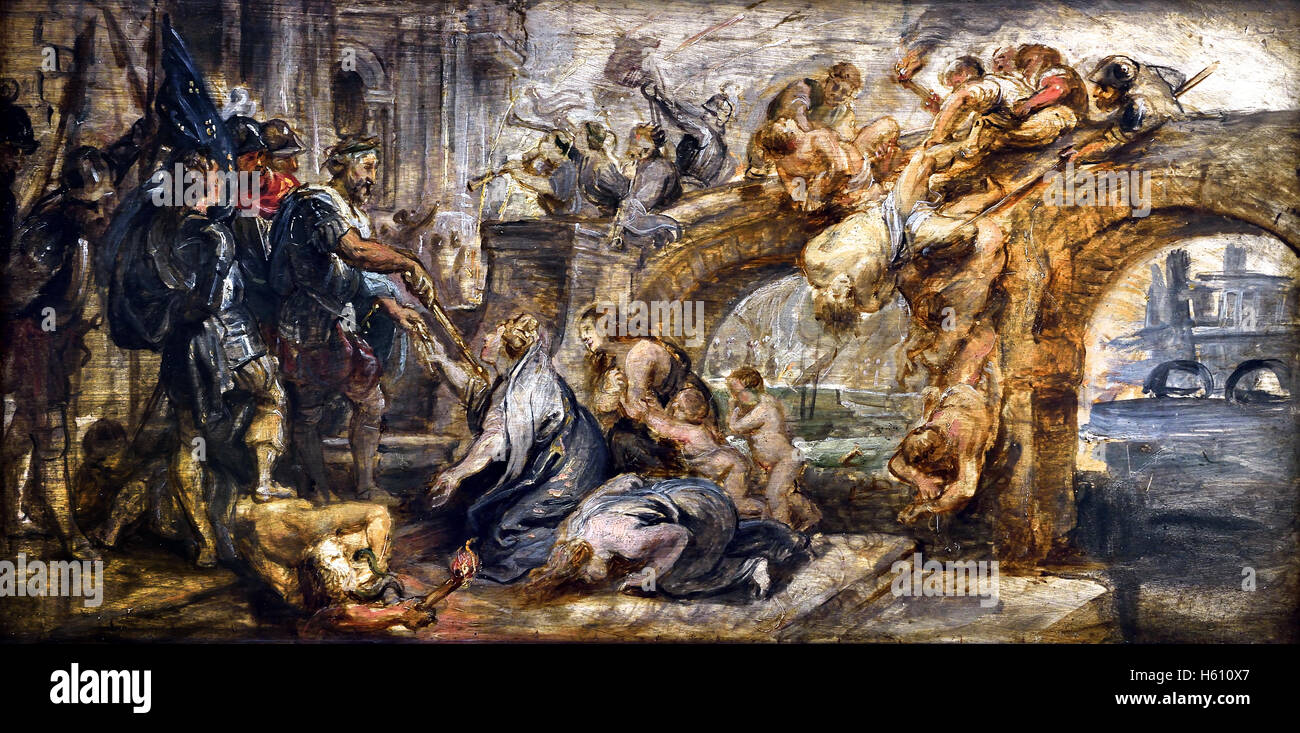 the-taking -of-paris-by-henry-iv-france-french-1628-by-peter-paul-rubens-H610X7.jpg