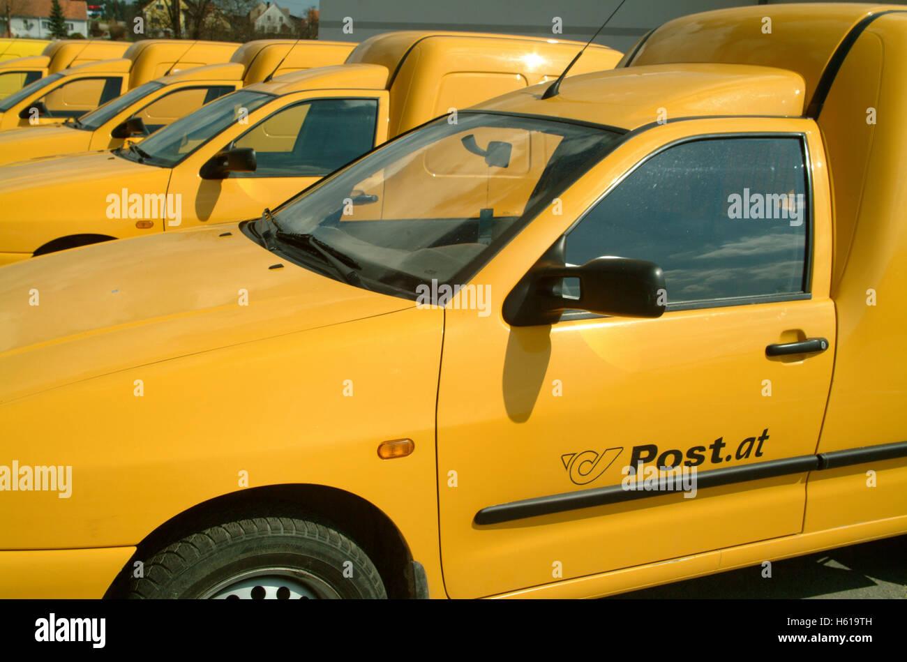 Post car Stock Photo
