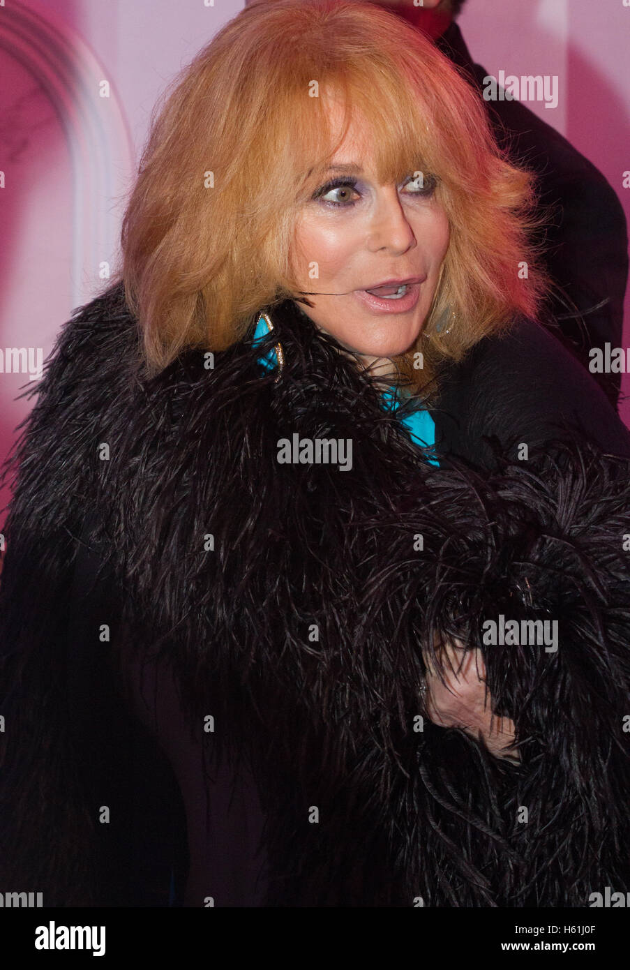 Ann-Margret arrives on the red carpet for the USO Gala at the DAR Constitution Hall on October 20, 2016 in Washington - Stock Image