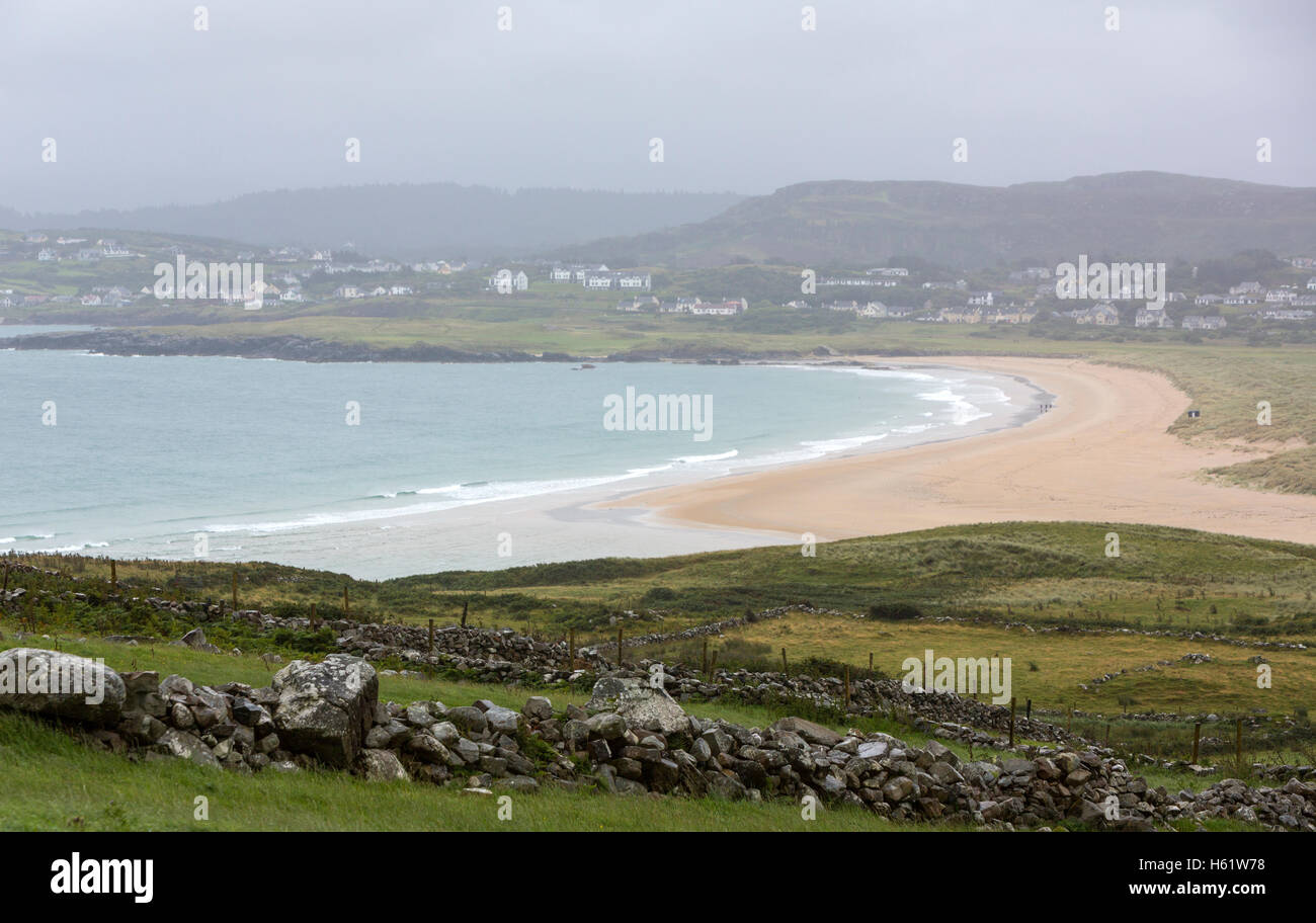 Dunfanaghy from The Ross , County Donegal, Ireland - Stock Image