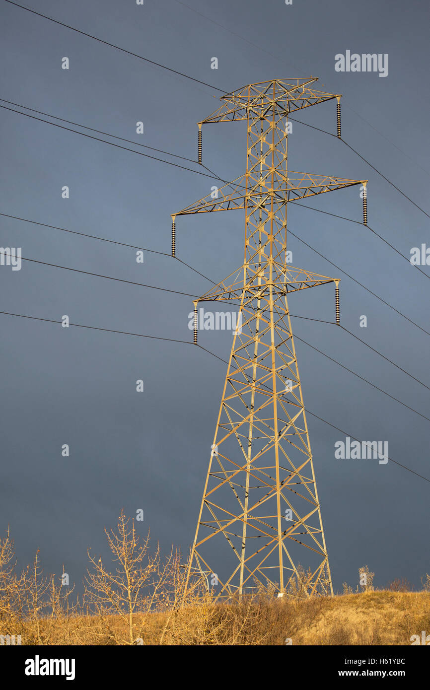 Transmission tower - Stock Image