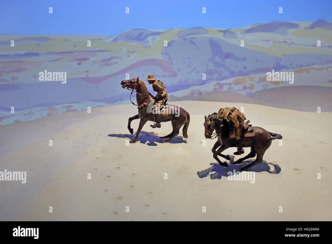 Desert Diorama Stock Photos & Desert Diorama Stock Images