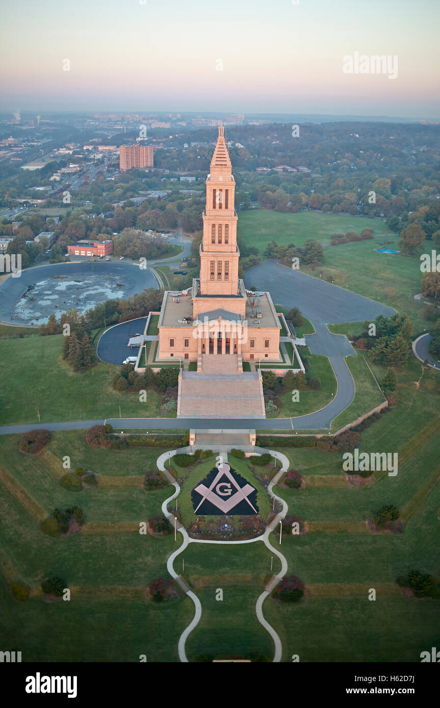 Afbeeldingsresultaat voor george washington masonic memorial
