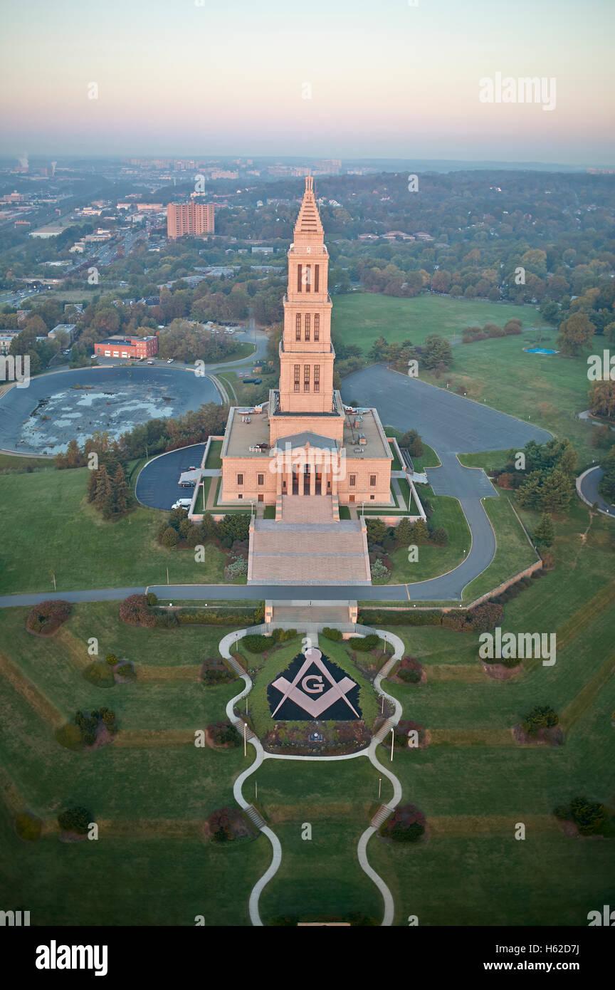 Afbeeldingsresultaat voor george washington masonic memorial