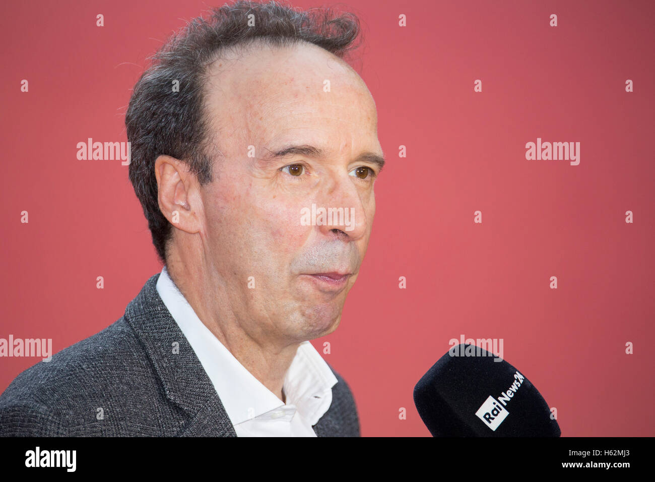 583d2280982 Roberto Benigni on the red carpet at the 11th Rome International Film  Festival - Stock Image