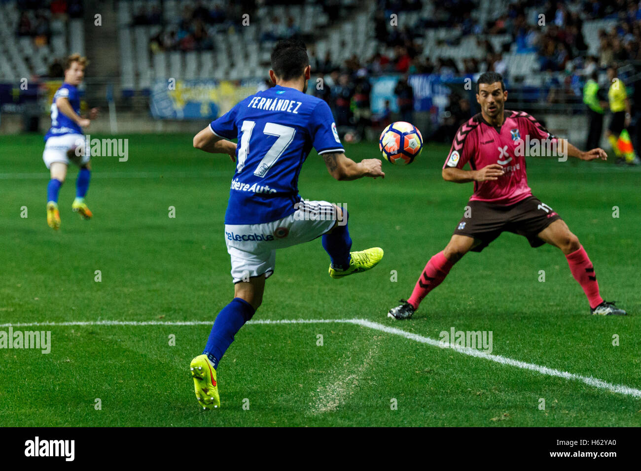 Oviedo, Asturias, Spain. 23rd Oct, 2016. Carlos Tartiere stadium. Liga 123 match between Real Oviedo v CD Tenerife. - Stock Image