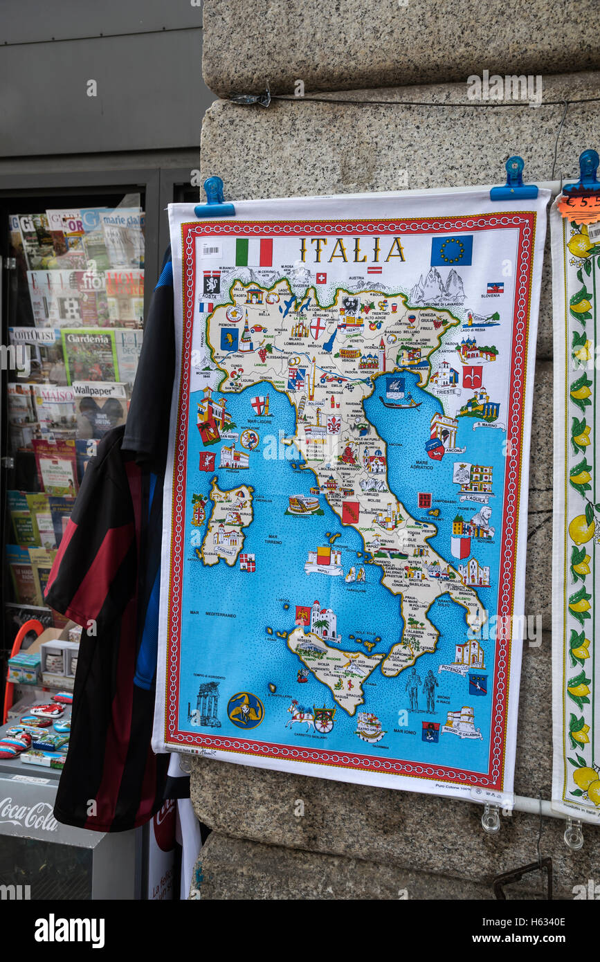 Souvenir Tea Towel High Resolution Stock Photography And Images Alamy