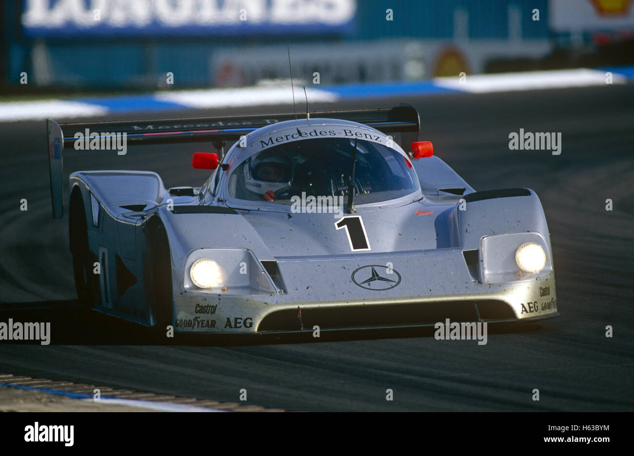 1 Baldi And Schlesser Mercedes Benz C11 In World Sports Car Championship    Stock Image