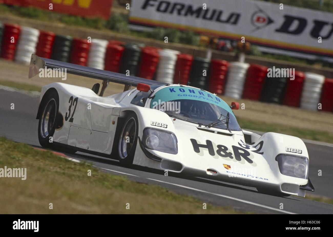 1990 Franz Konradu0027s Porsche 962 World Sports Car Championship Car   Stock  Image