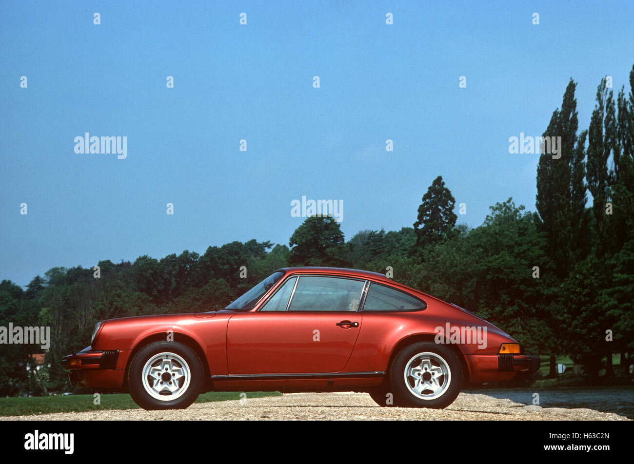 1980s Porsche 911 - Stock Image