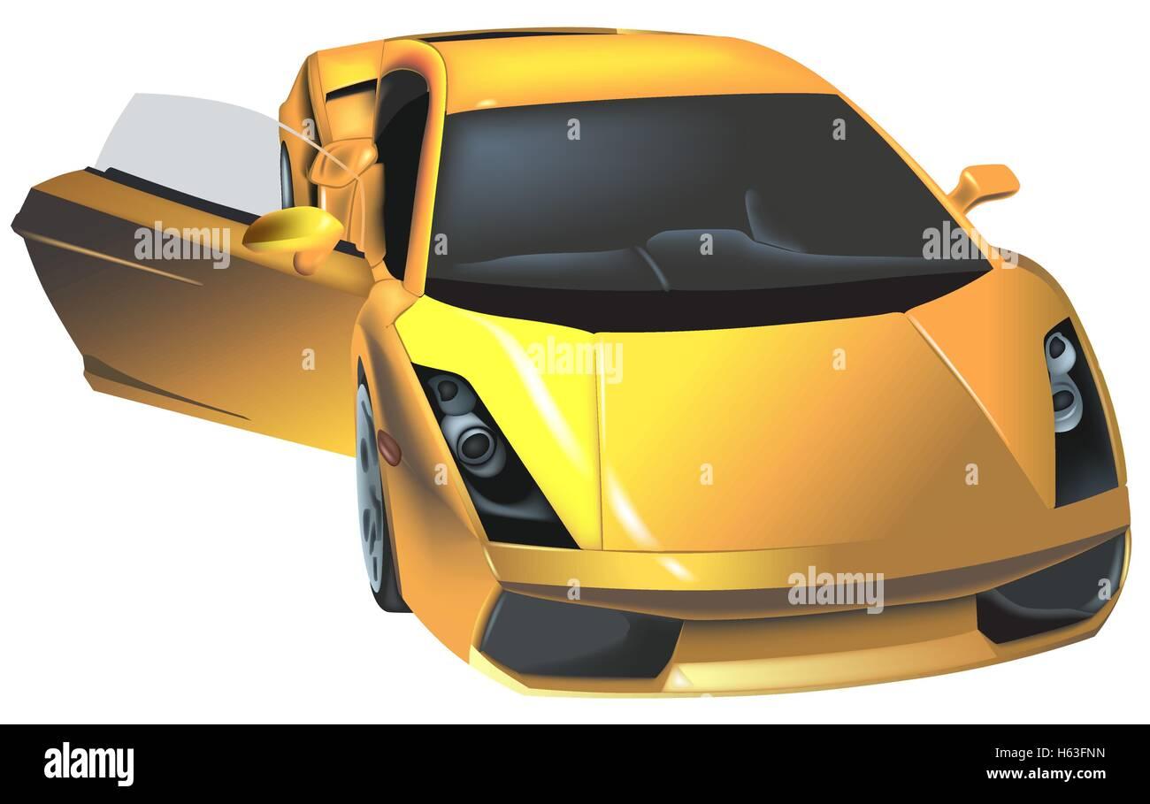 Lamborghini Stock Vector Images Alamy