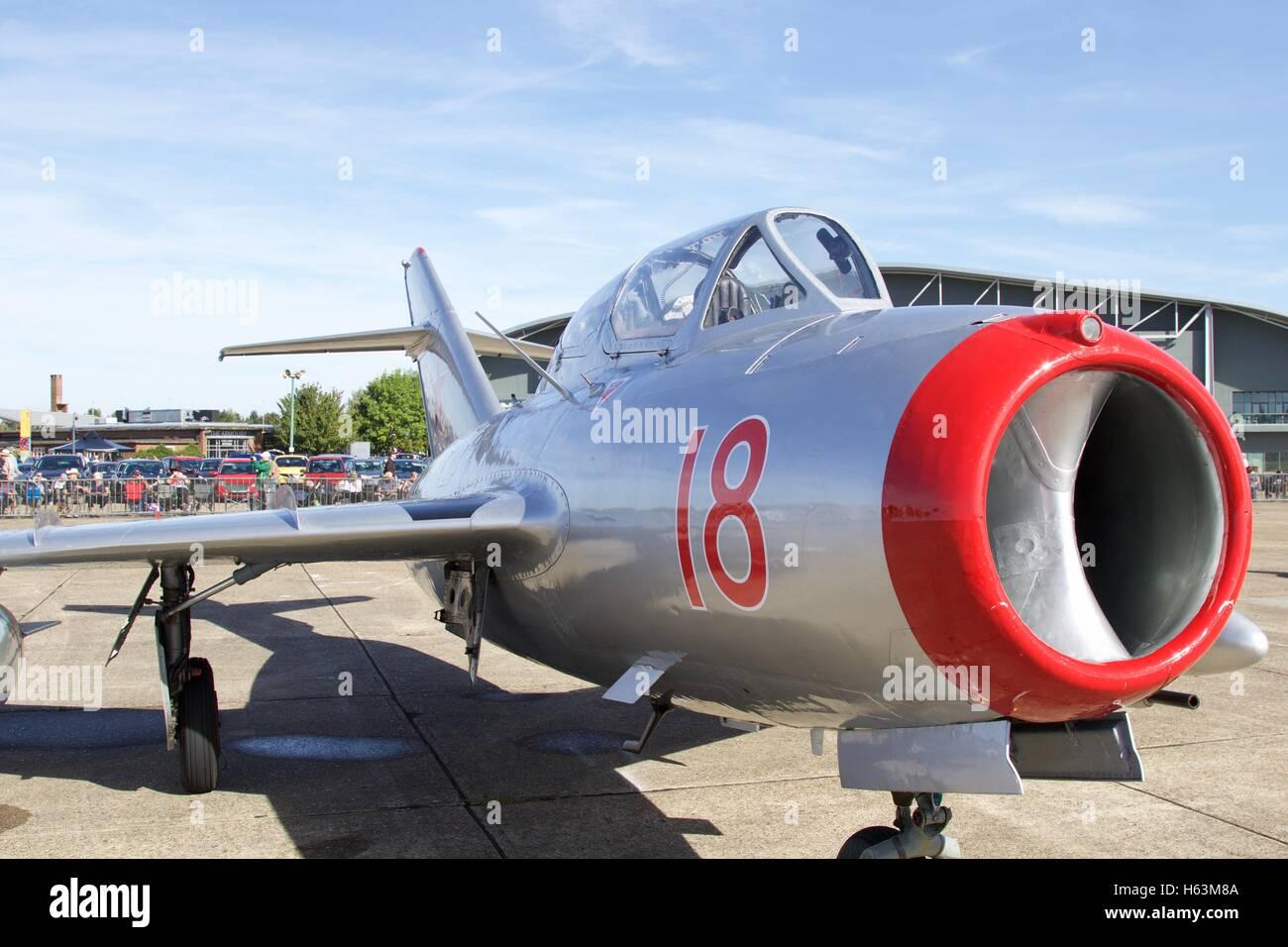 Mikoyan-Gurevich MiG-15 - Stock Image
