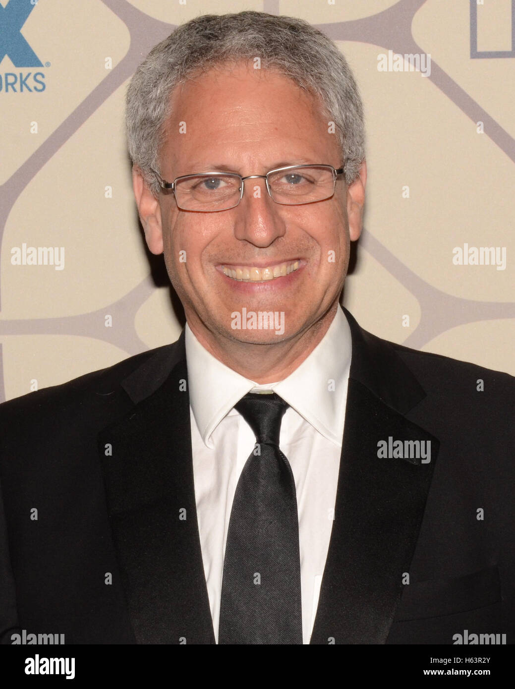 President and CEO of the National Geographic Society Gary Knell attends the 67th Primetime Emmy Awards Fox after - Stock Image