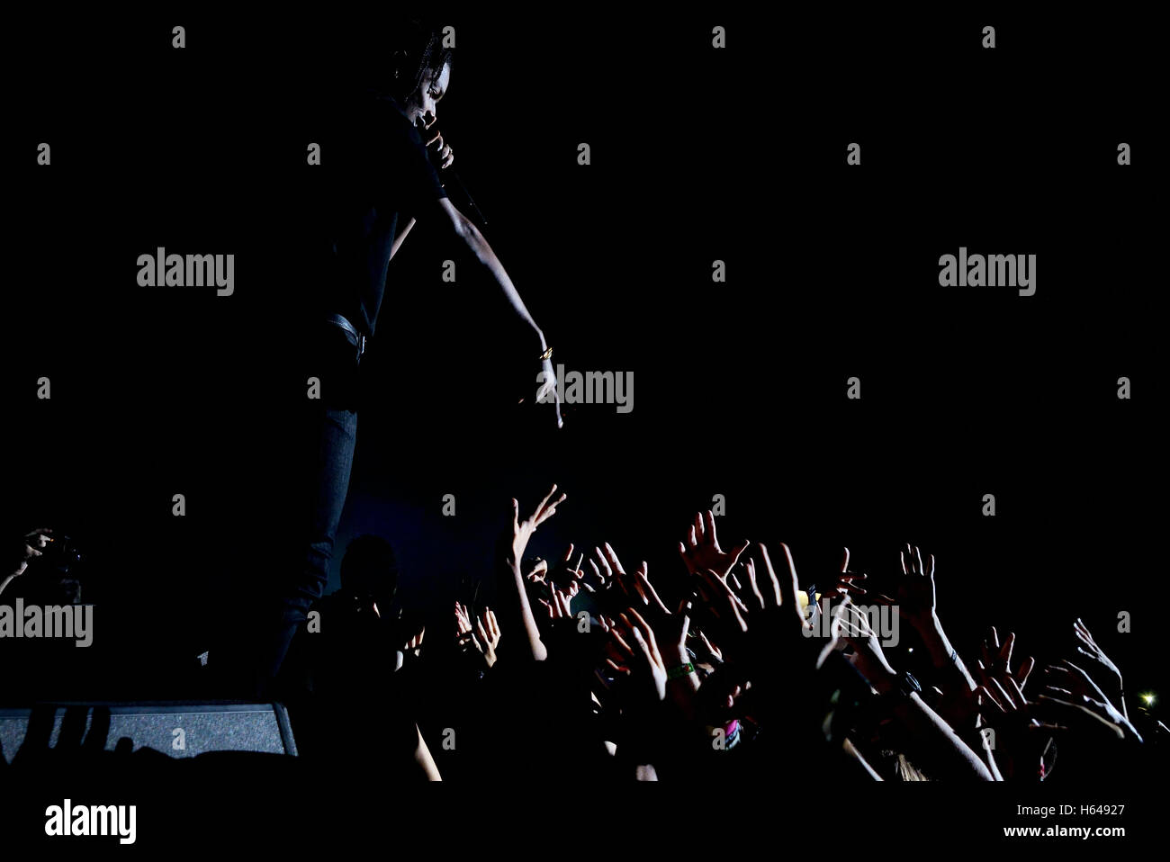 Kanye West And Asap Rocky Stock Photos & Kanye West And Asap Rocky ...