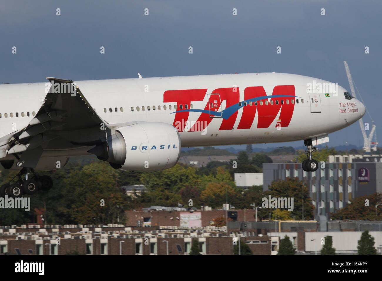 TAM BRASIL - Stock Image