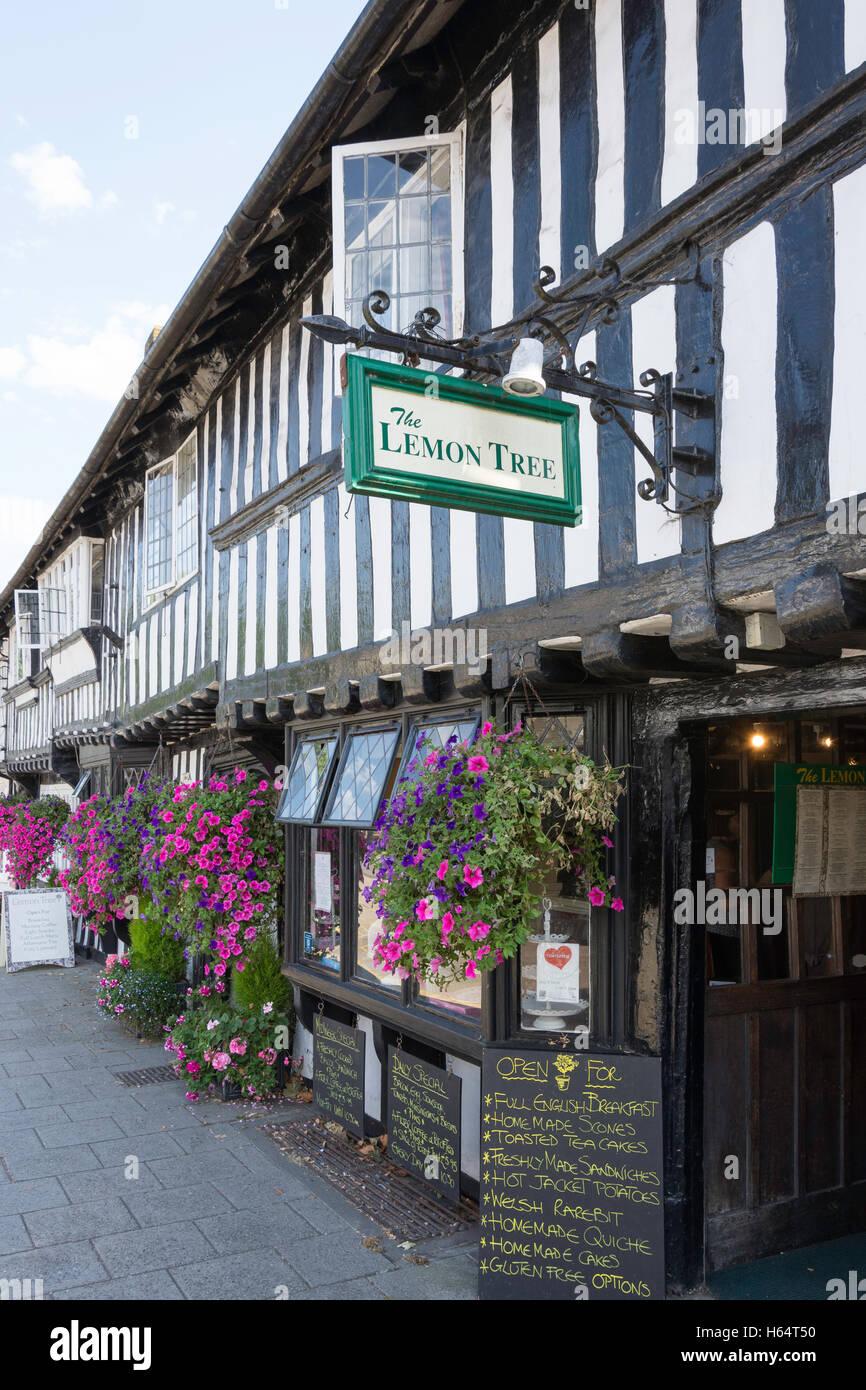 The Lemon Tree Restaurant, High Street, Tenterden, Kent, England, United Kingdom - Stock Image