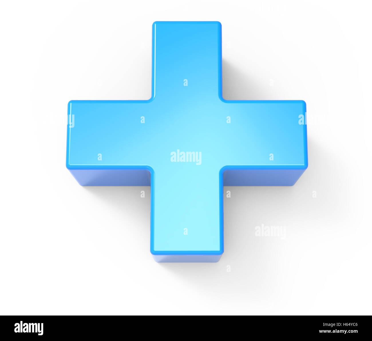 3d Rendering Cross Pharmacy Symbol Stock Photos 3d Rendering Cross