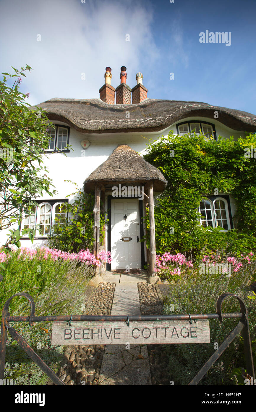 Beehive Cottage, Swan Green, Lyndhurst, New Forest, Hampshire, England, UK - Stock Image