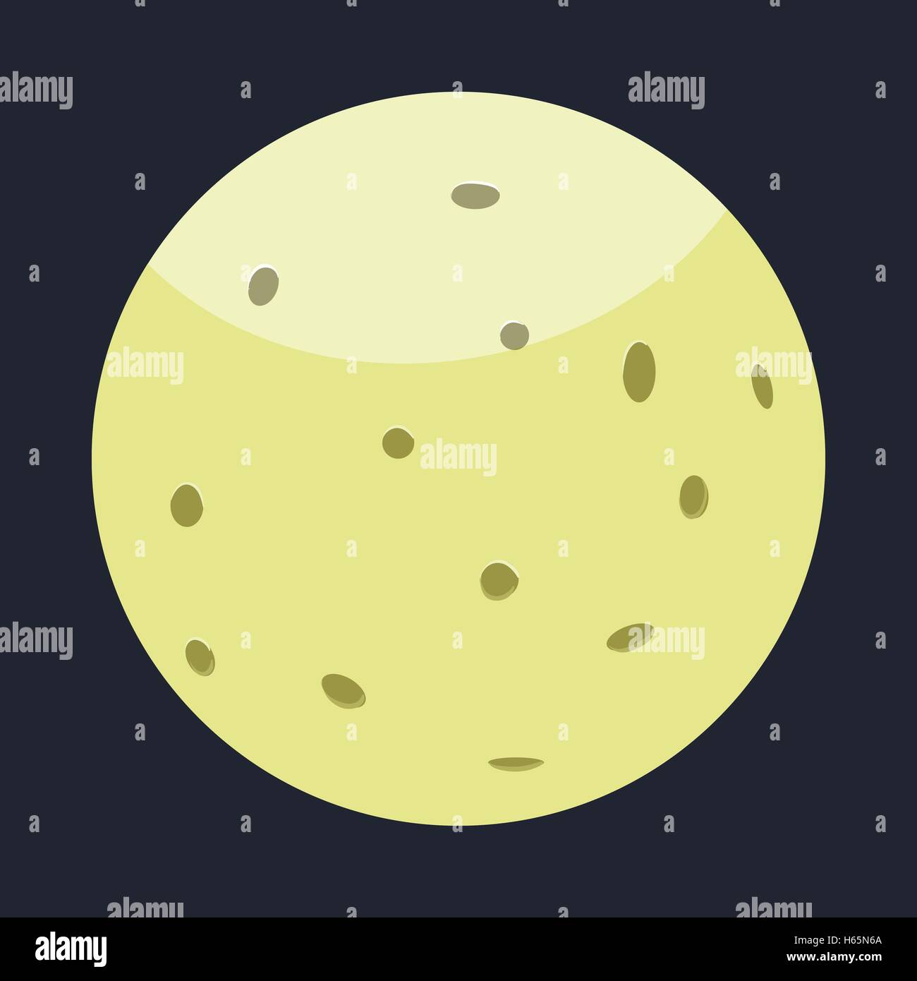 pluto planet cartoon - HD1300×1390