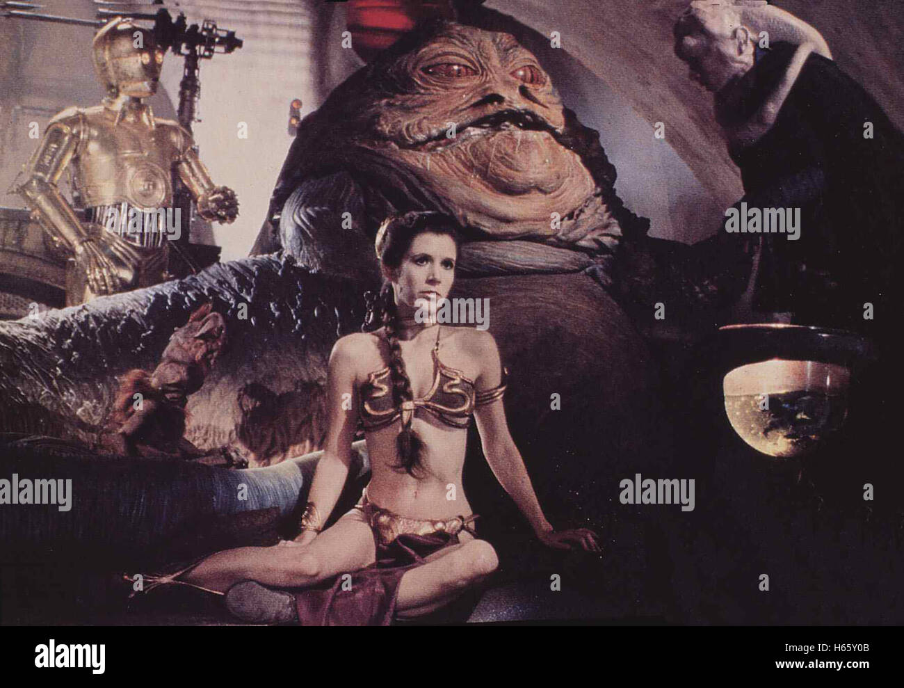 Die Rückkehr der Jedi-Ritter Star Wars - Episode VI: Return of the Jedi, USA 1983, Regisseur: Richard Marquand, - Stock Image