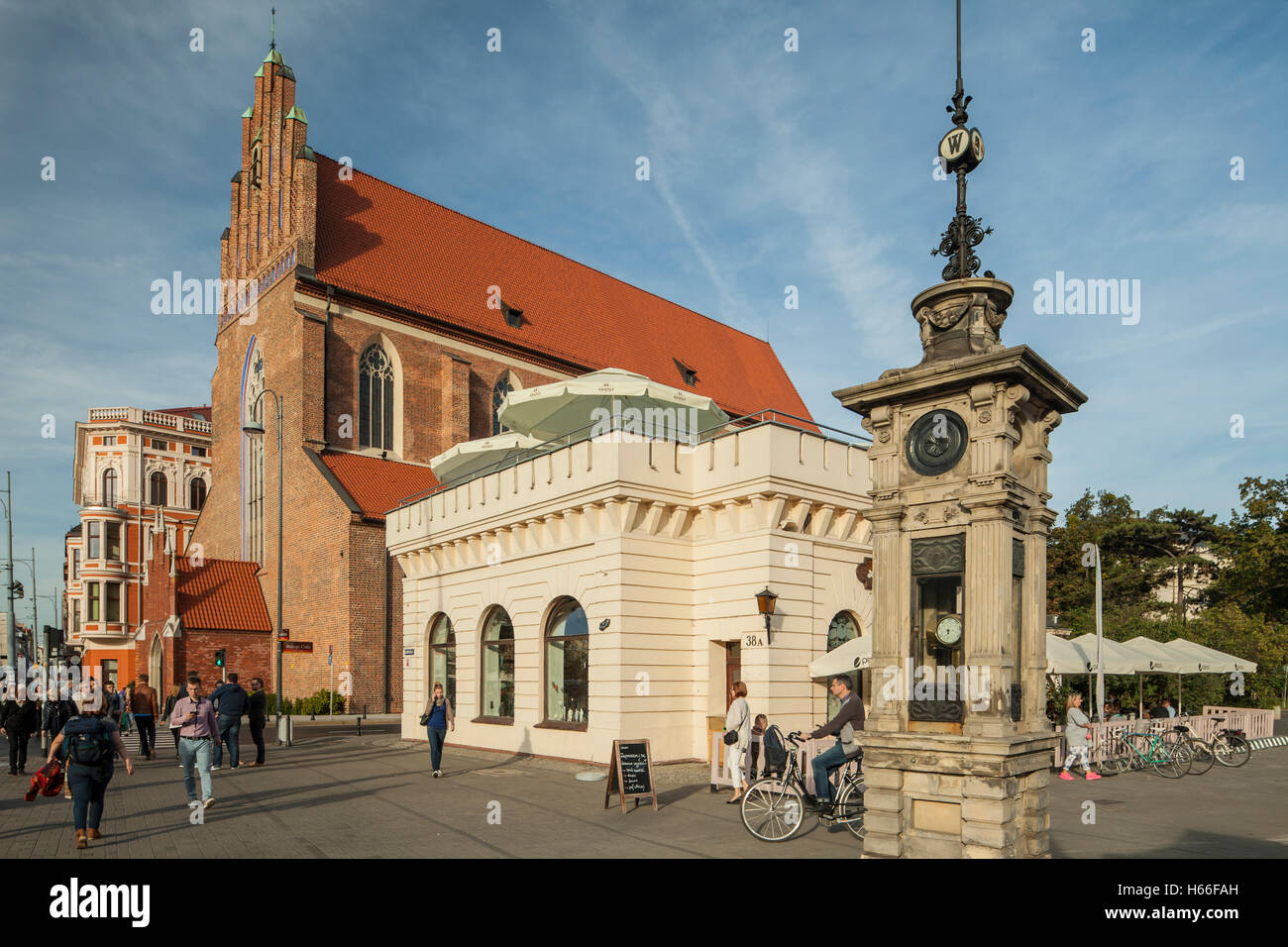 Corpus Christi church in Wroclaw, Poland. - Stock Image