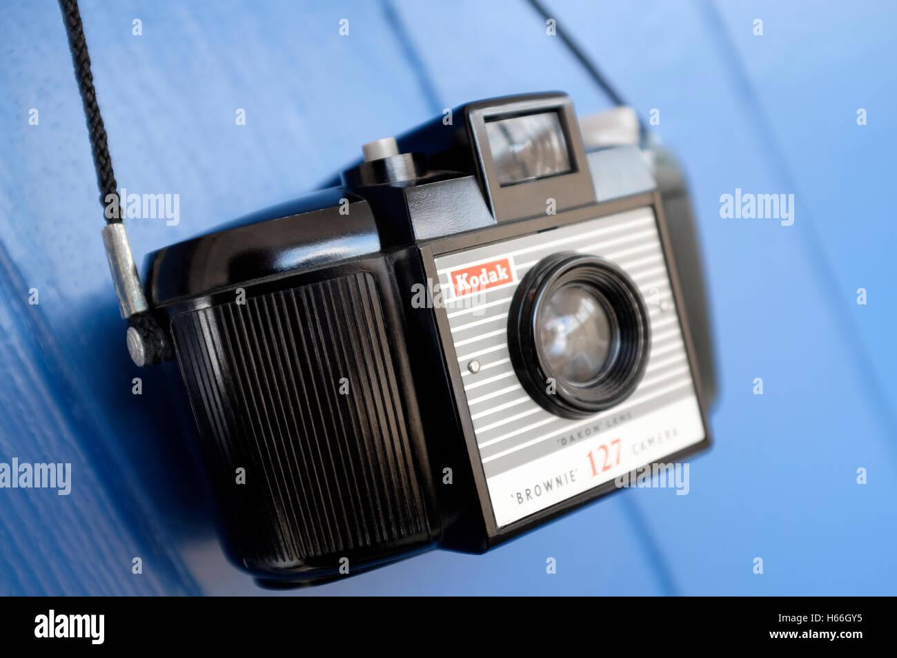 kodak brownie 127 camera - Stock Image
